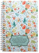 Journal: Floral, and We Know That All Things Work Together For Good Spiral
