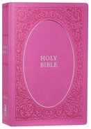 NIV Holy Bible Soft Touch Edition Pink (Black Letter Edition) Premium Imitation Leather