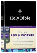 NRSV Pew and Worship Bible Black