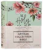 NIV Artisan Collection Bible Teal Floral (Red Letter Edition) Hardback