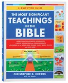 The Most Significant Teachings of the Bible Paperback