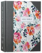 KJV Journal the Word Bible Pink Floral (Red Letter Edition) Hardback
