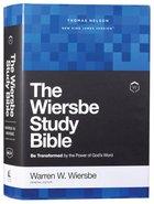 NKJV Wiersbe Study Bible Hardback