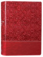 NKJV Wiersbe Study Bible Burgundy Premium Imitation Leather