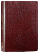 NIV Maxwell Leadership Bible Burgundy 3rd Edition Bonded Leather
