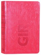 CSB Study Bible For Girls Hot Pink Paisley Design Leathertouch (Red Letter Edition) Imitation Leather