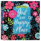 Guided Journal: God is My Happy Place (Floral) Flexi Back