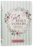 God's Daily Answers - Godly Wisdom to Direct Your Steps (365 Daily Devotions Series)