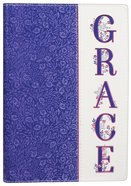 Journal: Grace, Purple Luxleather Stationery