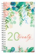 2020 12-Month Daily Diary/Planner: 20 Twenty, Floral Spiral