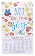 2020 Mini Magnetic Calendar: Today I Choose Joy Calendar