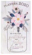 2020 Small 24-Month Daily Diary/Planner: Yesterday, Today and Forever, Heb 13:8 Paperback
