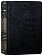ESV Archaeology Study Bible Black (Black Letter Edition) Genuine Leather