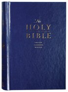 ESV Premium Pew and Worship Bible Blue (Black Letter Edition) Hardback