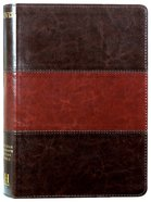 NIV Rainbow Study Bible Saddle Brown Imitation Leather