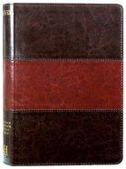 NIV Rainbow Study Bible Saddle Brown Imitation Leather