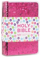 NIV Ruby Pocket Bible Pink Glitter Imitation Leather