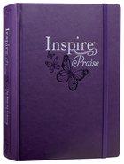 NLT Inspire Praise Bible Large Print (Black Letter Edition) Hardback