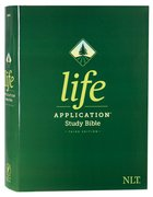 NLT Life Application Study Bible 3rd Edition (Black Letter) Hardback