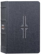 NLT Filament Bible Gray (Black Letter Edition) (The Print+digital Bible) Hardback