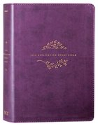 NLT Life Application Study Bible 3rd Edition Purple (Black Letter Edition) Imitation Leather