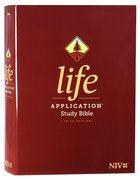 NIV Life Application Study Bible 3rd Edition (Red Letter Edition) Hardback