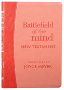Amp Battlefield of the Mind New Testament Coral Bonded Leather