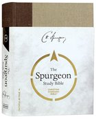 CSB Spurgeon Study Bible Brown/Tan Hardback