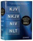 Kjv/Nkjv/Niv/Nlt Complete Evangelical Parallel Bible Hardback