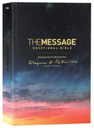 Message Devotional Bible (Black Letter Edition) Paperback