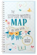 The Scripture Memory Map For Teen Girls: A Creative Journal Spiral