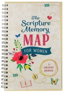 Journal: Scripture Memory Map For Women: A Creative Journal Spiral