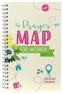 The Prayer Map For Women: A Creative Journal Spiral