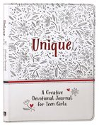 Unique: A Creative Devotional Journal For Teen Girls Imitation Leather