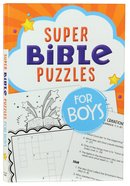 Super Bible Puzzles For Boys Paperback