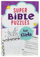 Super Bible Puzzles For Girls Paperback