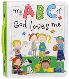 My ABC of God Loves Me Board Book