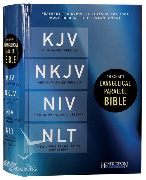 Kjv/Nkjv/Niv/Nlt Complete Evangelical Parallel Bible