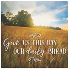 Ceramic Trivet: Give Us This Day Our Daily Bread, Field Scene Homeware