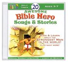 20 Awesome Bible Hero Songs & Stories CD