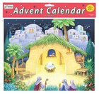 Advent Calendar With Stickers: Nativity Scene Calendar