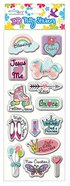 Puffy Stickers: Girl's Series (1 Sheet Per Pack) Novelty