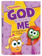 God Knows Me: 365 Daily Devos For Girls (Veggie Tales (Veggietales) Series) Paperback