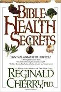 Bible Health Secrets Hardback