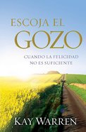 Escoja El Gozo (Choose Joy) Paperback
