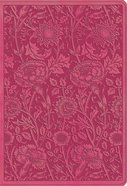 ESV Student Study Bible Berry Floral Design (Black Letter Edition) Imitation Leather