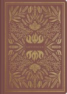 ESV Illuminated Scripture Journal Leviticus (Black Letter Edition) Paperback