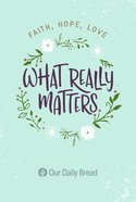 What Really Matters eBook