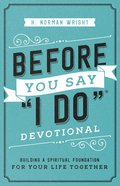 "Before You Say ""I Do"" Devotional eBook"