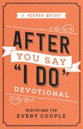 "After You Say ""I Do"" Devotional eBook"